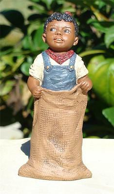 All God's Children Beth  #1558 Girl In Potato Sack Race Figurine MISS MARTHA MIB
