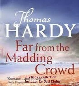 CD- Thomas Hardy Collection - 20 eBooks (Resell Rights)