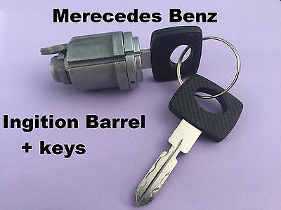 Mercedes Benz W124 W201 Ignition barrel and keys 300E 300D 180E + others