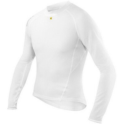 Mavic Men's Echelon Long Sleeve Base Layer White XL