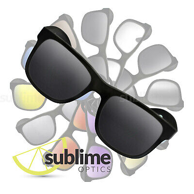 POLARIZED Black (Dark Grey) Replacement Lenses for Ray Ban RB4165 Justin 51mm