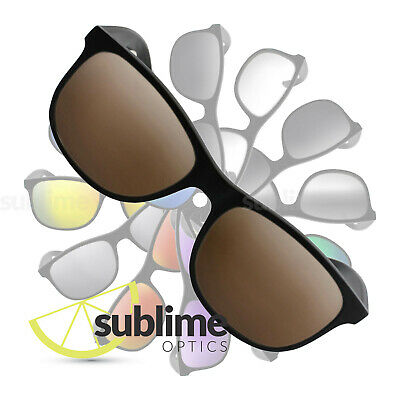 POLARIZED Dark Brown Replacement Lenses for Ray Ban RB4202 Andy 55mm  ~ Bronze