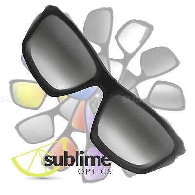 588ec26678 POLARIZED Gradient Grey to Clear Replacement Lenses for Oakley Valve OO9236