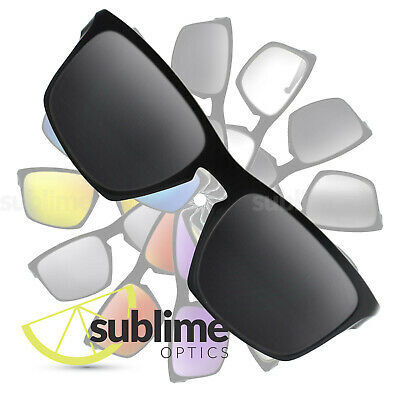 POLARIZED Black (Dark Grey) Replacement Lenses for Oakley Sliver ~ also fits F