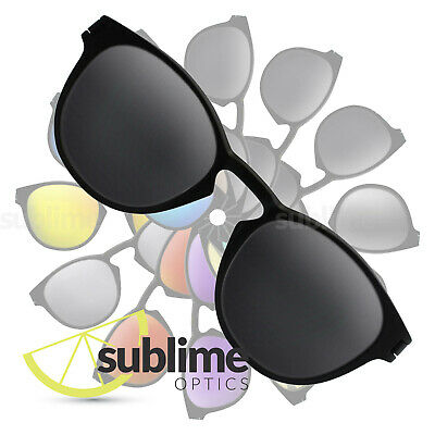 POLARIZED Black Replacement Lenses for Oakley Latch OO9265