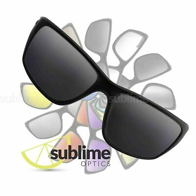 POLARIZED Black (Dark Grey) Replacement Lenses for Oakley Canteen NEW 2014