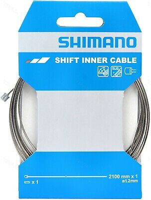 Shimano SUS Stainless Shift Bicycle Derailleur Inner Shifter Cable 2100mm 1.2mm