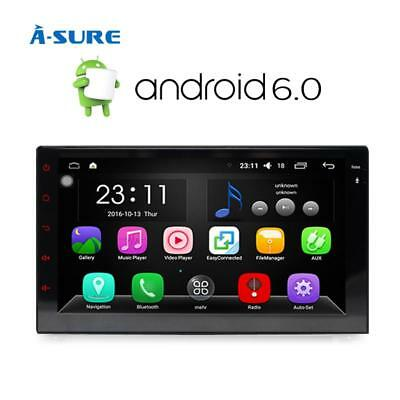 """DAB+ 7"""" 4 Core Android 5.1 GPS Double 2 Din Sat Nav Radio Mirror Link HD WiFi"""