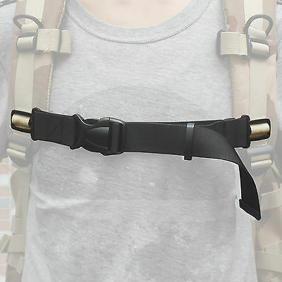"""ONE Sternum Strap Backpack Chest Strap with Quick buckle for 1"""" webbing"""