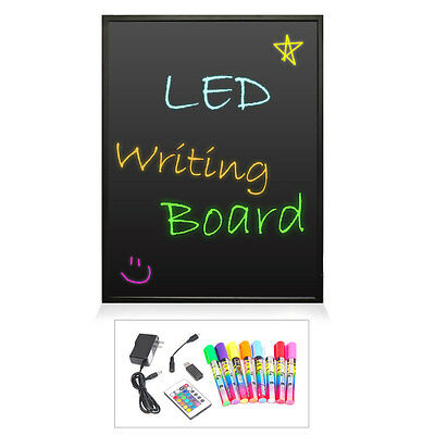 "NEW Pyle PLWB6080 Erasable Illuminated LED Writing Board w/ Remote  32"" x 24"""
