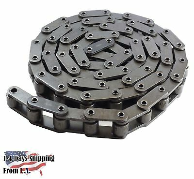 #C2082HHP Heavy Duty Hollow Pin Conveyor Chain 10 Feet with 1 Connecting Link