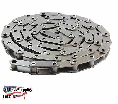 #C2080HP Hollow Pin Conveyor Roller Chain 10 Feet with 1 Connecting Link