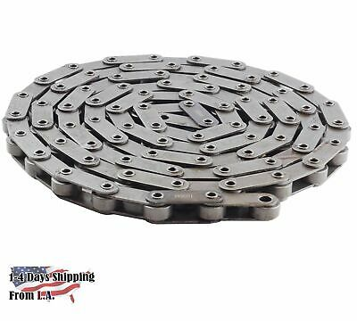 #C2062HP Hollow Pin Conveyor Roller Chain 10 Feet with 1 Connecting Link