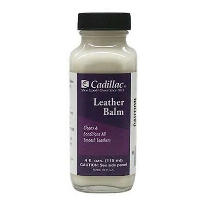 Cadillac Leather Balm Conditioner Cleaner Polish 4 oz