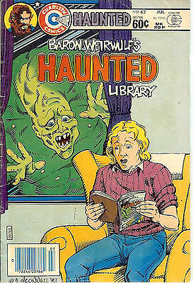 Haunted #62 (1982; fn 6.0) Pat Boyette & Mike Vosburg art