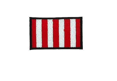 Patch ecusson brode thermocollant drapeau flag sons of liberty usa us airsoft