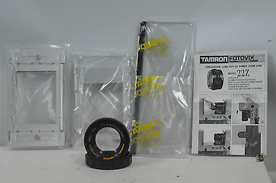 Tamron 22Z 2 1/4  Conversion Lens with Cap, Box For Fotovix II-X