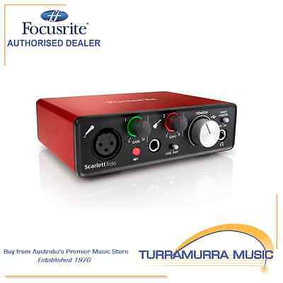 Focusrite Scarlett Solo Gen 2 USB audio interface