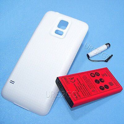 8680mA Extended Battery Back Cover Stylus For Verizon Samsung Galaxy S5 SM-G900V