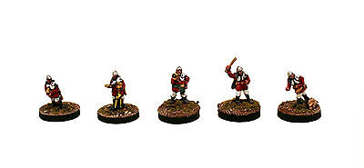 15mm Pro-Painted Science Fiction - IAF105 Precinct Police -5 Space Miniatures