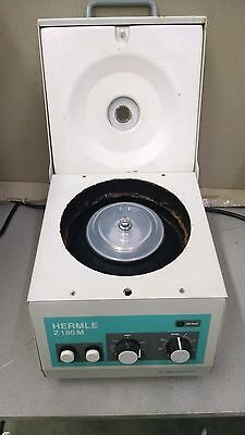 Labnet Hermle Z180M-18 MicroCentrifuge with Rotor
