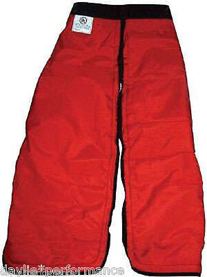 """Chainsaw Chaps - Protective Pants New Large 40"""" Safety Pants Chainsaw Trousers"""