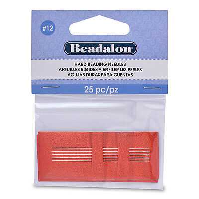 Beadalon Hard Needles - Beading Needles - Sewing Needles - Needle Threader