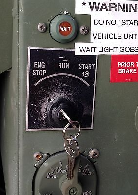 Military Hmmwv Truck Plug &play Keyed Ignition Starter Switch H1 Humvee M998 A1