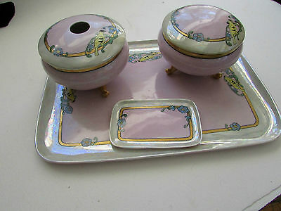 Beautiful TK Czechoslovakia Dresser Set-GORGEOUS