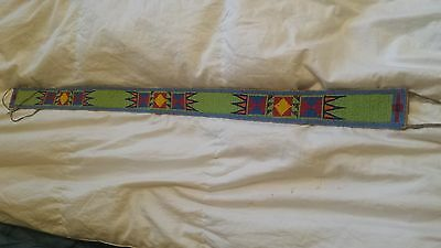 Northern Cree Beaded Belt