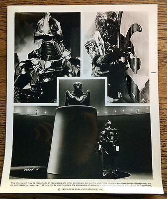Battlestar Galactica 1978 Press Photo Cylon, Imperious Leader, Ovion
