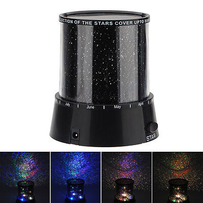 Amazing Sky Star Master LED Cosmos Laser Projector Lamp Night Light