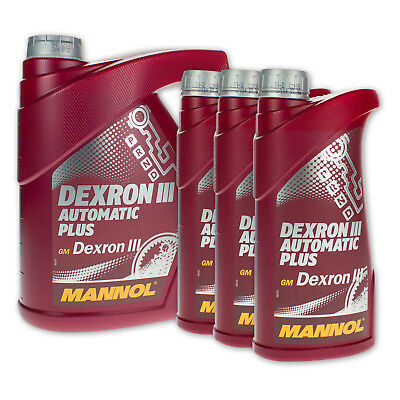 5 liter mannol dexron iii automatik getriebe l filter sg. Black Bedroom Furniture Sets. Home Design Ideas