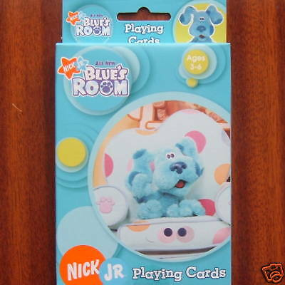 Blues Clues Blue's Room Playing Cards Nick Jr Brand New