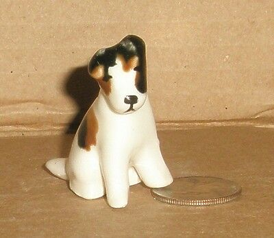 Dog figurine Fox  Terrier/ Grindley