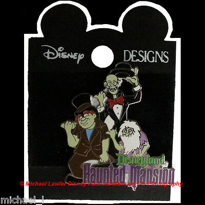 Disney Dlr 1998 Attraction Series Haunted Mansion Hitchhiking Ghosts Pin