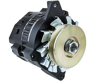 CVR 7970BK Racing Alternator Delco 100 amp One Wire - Black