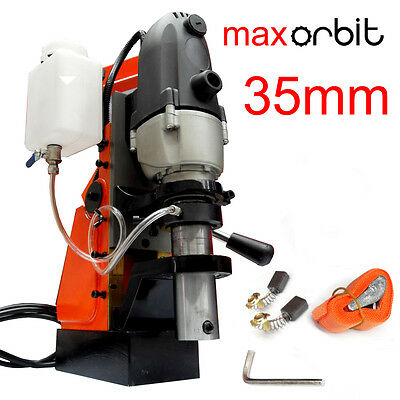 Quality 35mm Magnetic Base Drill High Torque Electric Power 19mm Spindle Annular