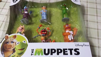 The Muppets Collectible Figures Disney Parks Kermit Miss Piggy 6 Characters