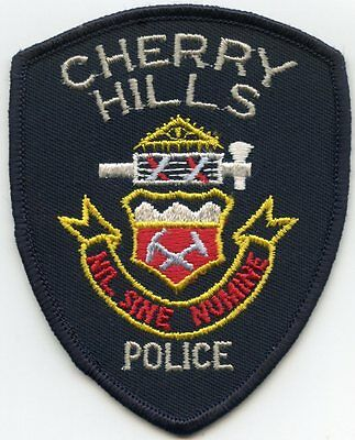 Cherry Hills Colorado Co Police Patch