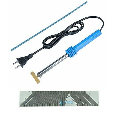 For SAAB 9-3 9-5 SID1 LCD Pixel Repair Ribbon Cable & T-Iron Soldering Tools ET