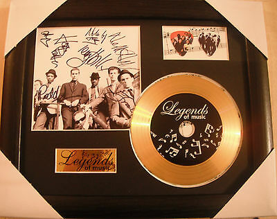The Specials Preprinted Autograph, Gold Disc & Plectrum Presentation