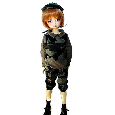 [wamami] 800# Camouflage Suit/Outfit For 1/4 MSD DOD AOD DZ LUTS BJD Dollfie