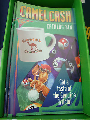 Vintage 90's Joe Camel Cash Catalog Six. New MINT Unused Condition. 25+ pages