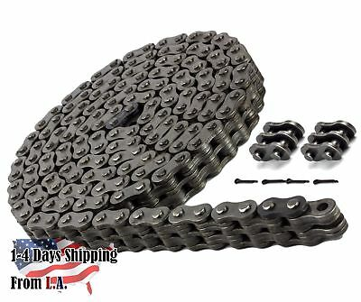 BL422 Leaf Chain 10 Feet For Forklift Masts,Hoisting with 1 Connecting Link