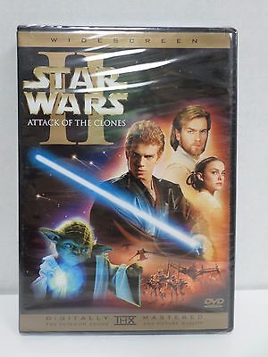 Star Wars II Attack of the Clones DVD 2-Disc Limited Ed Widescreen NEW SEALED