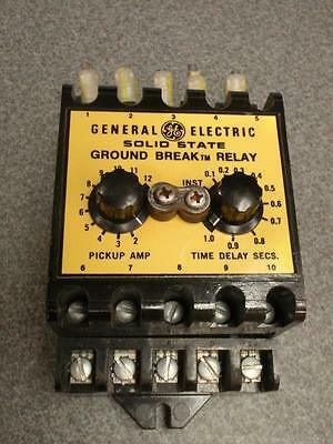 Ge Solid State Ground Break Relay Cat# Tgmr1 125Vdc 30A