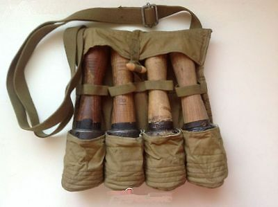SURPLUS HAND GRENADE FOUR STICK 3522 type POUCH, manufacture in 1956s*