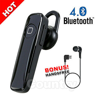 For LG Samsung iPhone Bluetooth Headset Stereo Headphones Wireless Earphone 4.0
