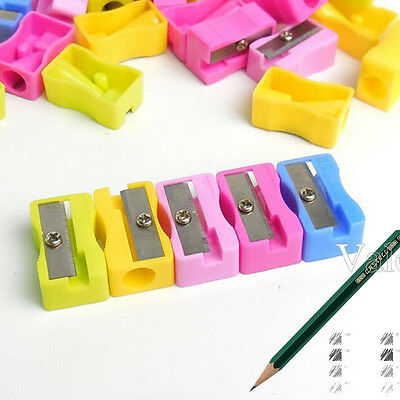 2x 4x High Quality Precision Makeup Pencil Sharpener Cosmetic Tool Plastic Lot